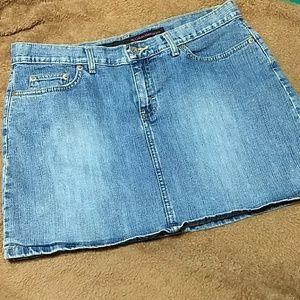 Women's Calvin Klein Jean Skirt